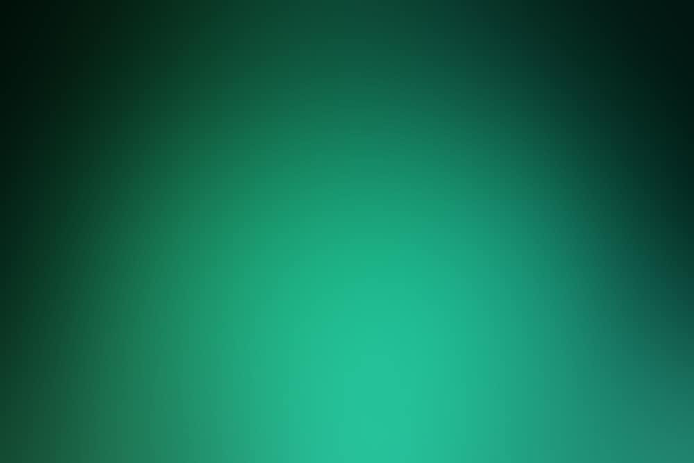 green background focused light