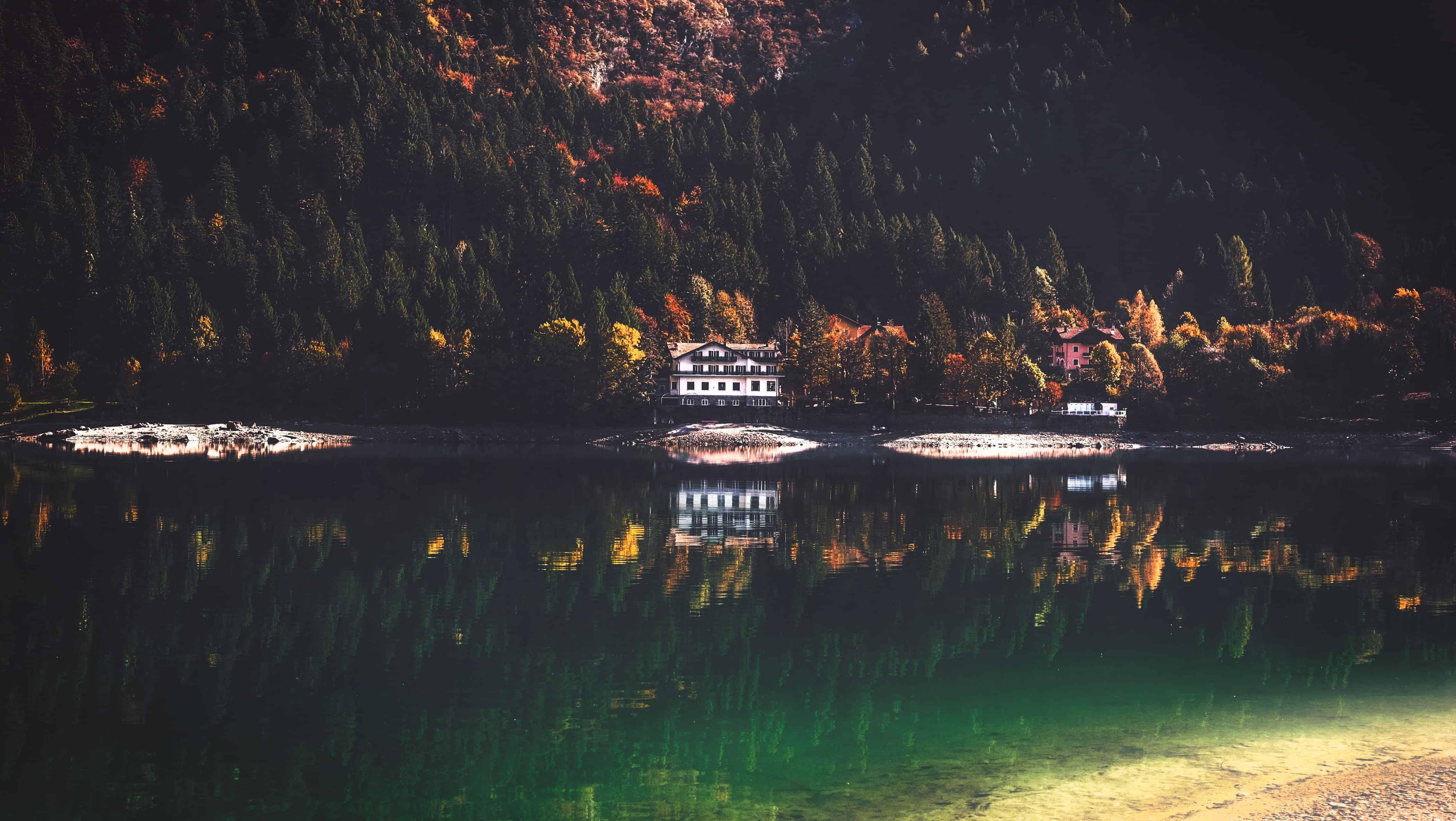 (credit: cristina gottardi) lake house nature