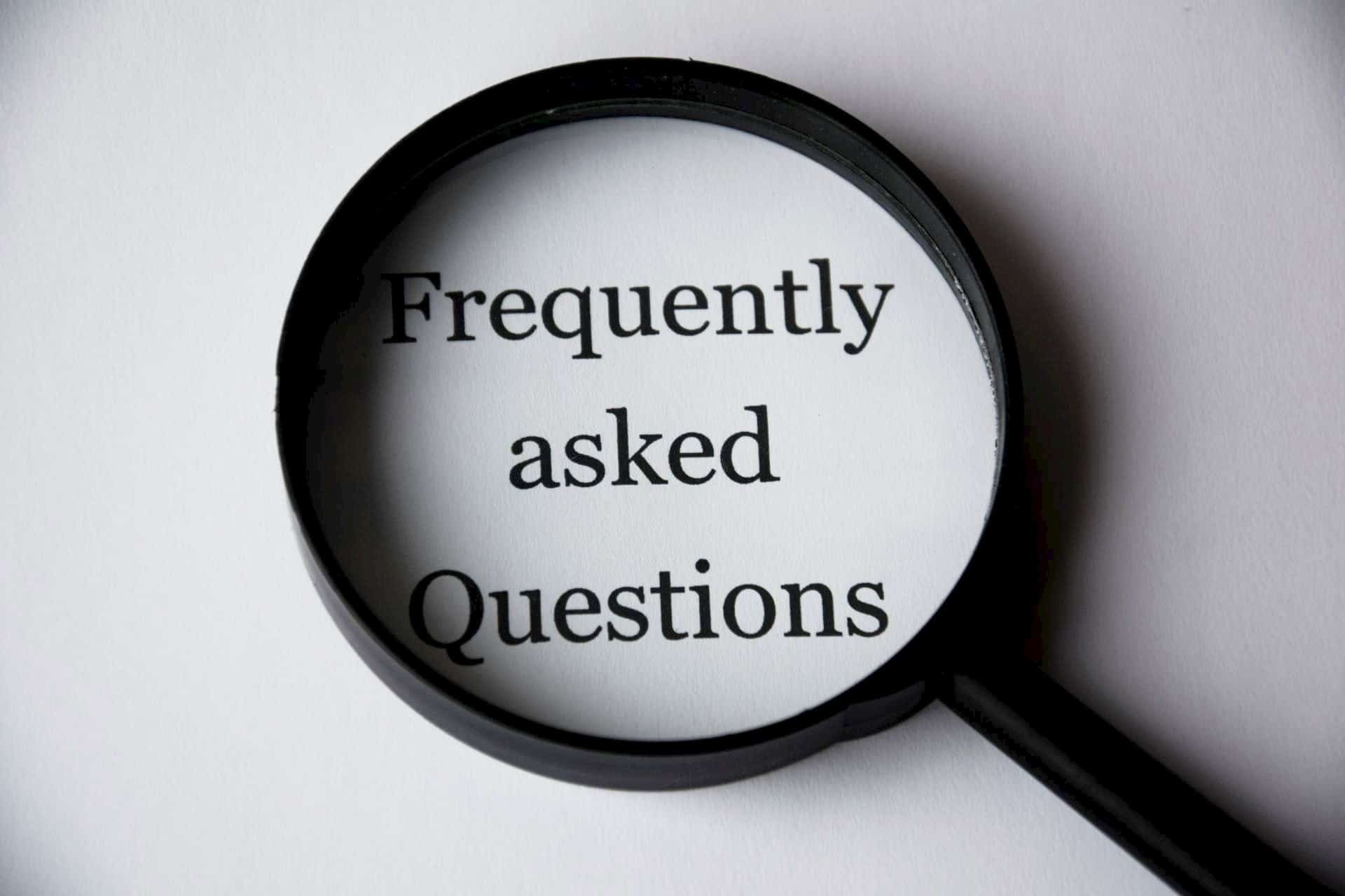 frequently asked questions magnifying glass