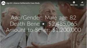 male life settlement video
