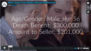 male cancer case study video