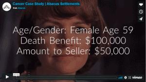 female cancer case study video