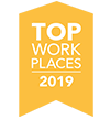 Top Work Places Award for 2019